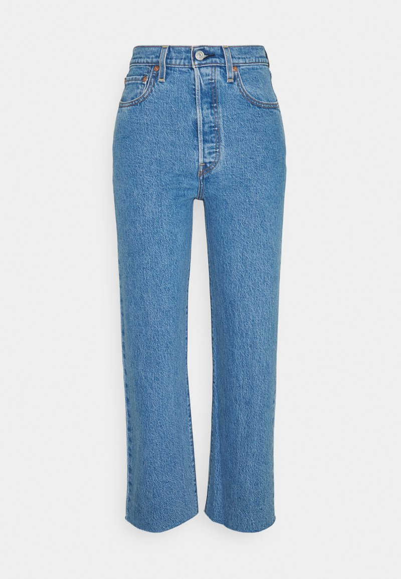 Levi's® - RIBCAGE STRAIGHT ANKLE - Jeans straight leg - jazz wave