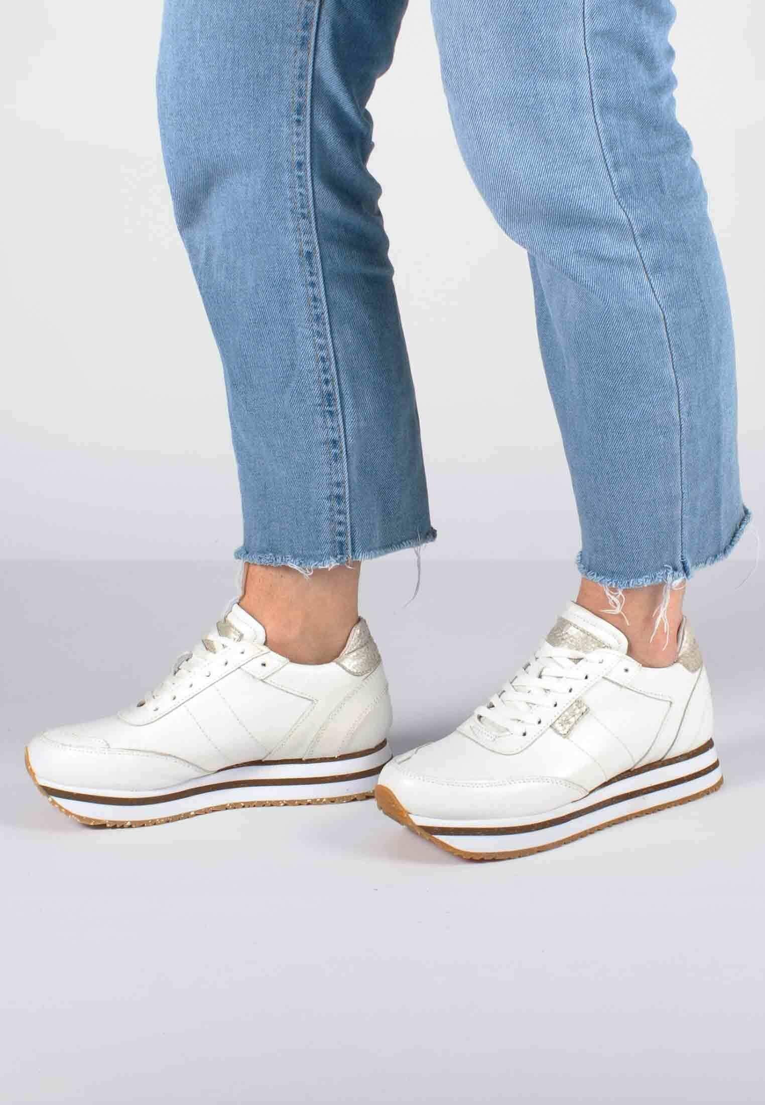 Il più economico Scarpe da Donna Woden AVA Sneakers basse weiß