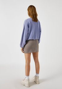 PULL&BEAR - A-line skirt - brown - 2
