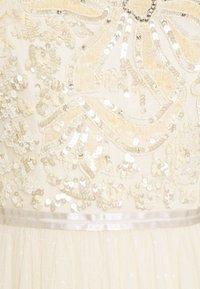 Needle & Thread - SHIRLEY RIBBON BODICE DRESS - Společenské šaty - champagne - 2