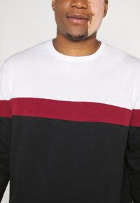 Pier One - Sweater - white/red/black - 5