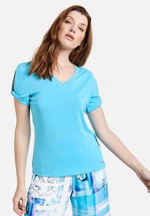 Basic T-shirt - blue curacao