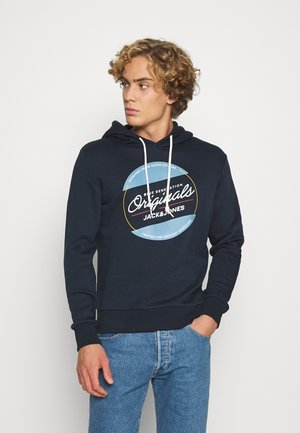 JORTONNI - Hoodie - navy blazer