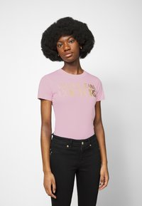 Versace Jeans Couture - LADY  - Print T-shirt - pink confetti - 0