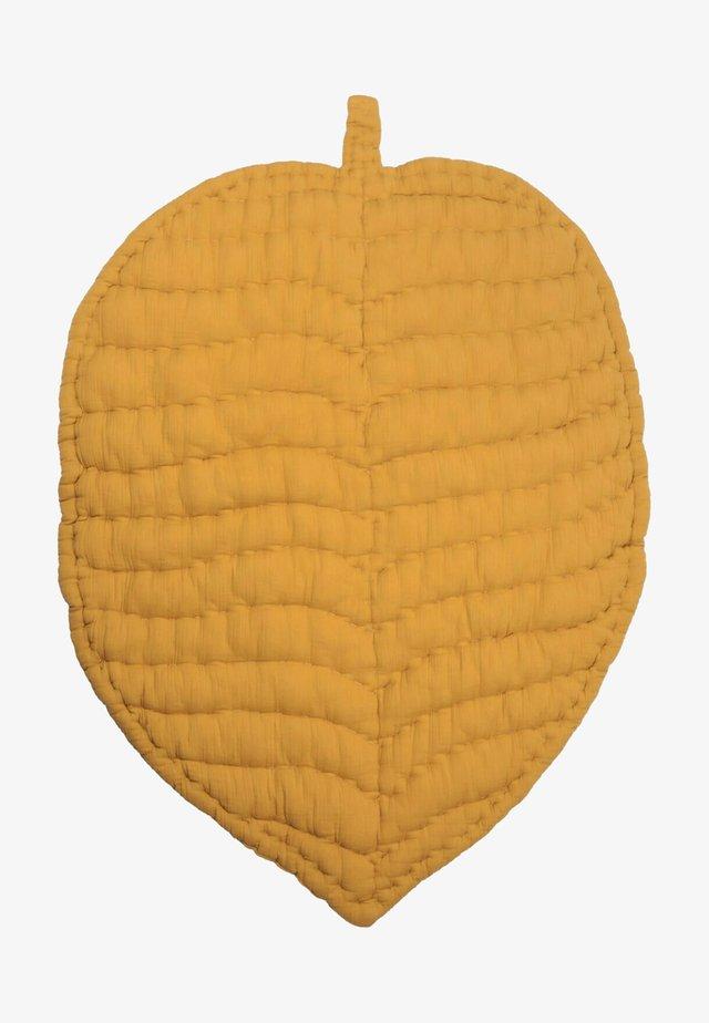 MUSLIN HANDMADE PLAYMAT - Hrací podložka - mustard yellow