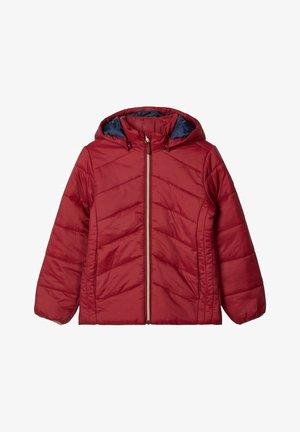 Winter jacket - biking red