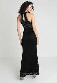 WAL G. - HIGH NECK MAXI - Galajurk - black - 2