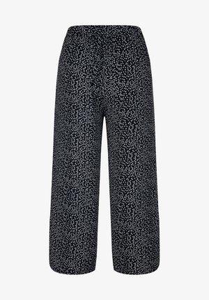 Trousers - weiß,schwarz,grau