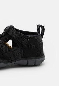Keen - SEACAMP II CNX UNISEX - Walking sandals - black/steel grey - 5