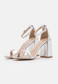 RAID - LORAINE - High heeled sandals - silver - 2