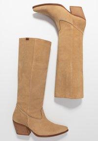 mtng - CENTA - Cowboy/Biker boots - beige - 3