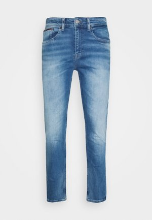 AUSTIN - Jeans Tapered Fit - corry mid blue
