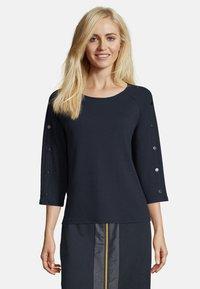 Betty Barclay - MIT KNOPFLEISTE - Sweatshirt - dunkelblau - 0