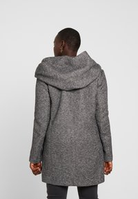 ONLY Carmakoma - CARSEDONA  - Short coat - dark grey melange - 2