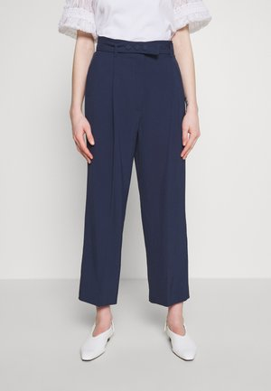 FLAUTO - Pantalon classique - navy