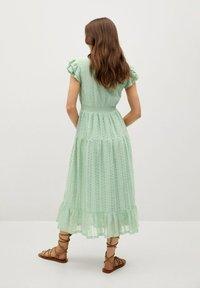 Mango - Day dress - pastelowa zieleń - 1