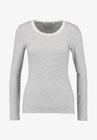 Hunkemöller - Nattøj trøjer - warm grey melange - 4
