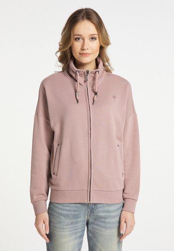 Zip-up sweatshirt - altrosa