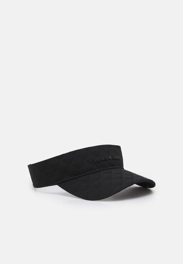 VISOR HAT - Cappellino - black