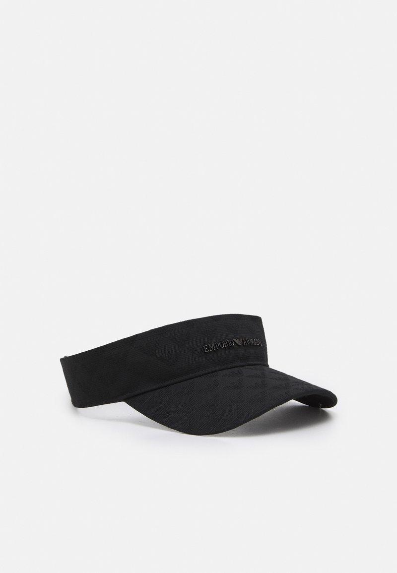 Emporio Armani - VISOR HAT - Casquette - black