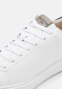 Selected Homme - SLHOLIVER TRAINER  - Trainers - white - 5