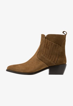 Ankle Boot - noisette