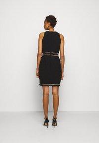 MOSCHINO - DRESS - Etui-jurk - black - 2