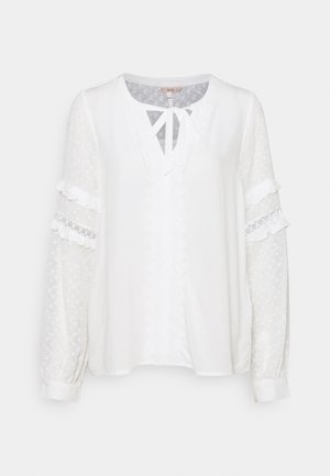 PLUMETIS SLEEVE - Bluser - off white