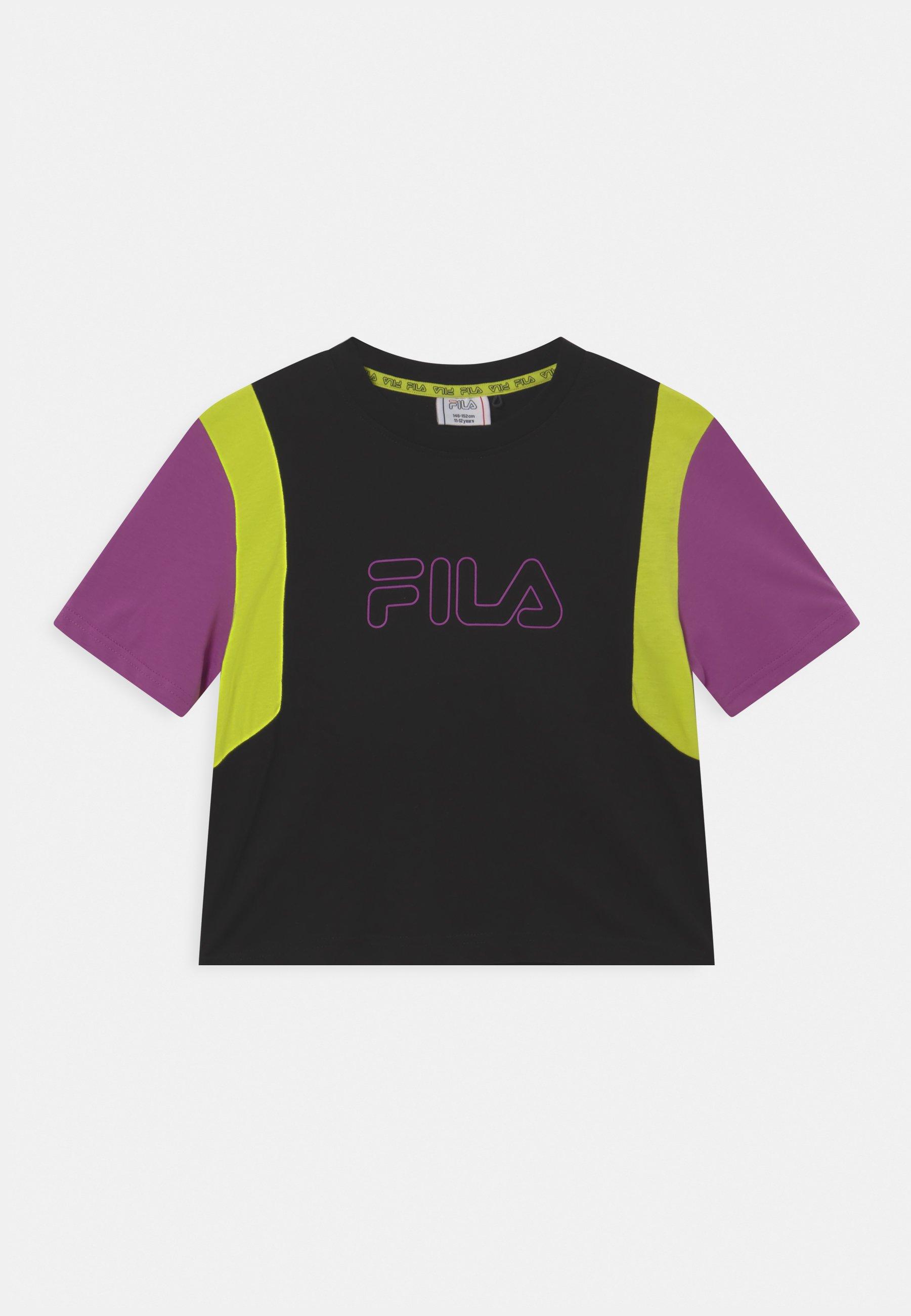 Kinder SAMARA BLOCKED CROPPED TEE - T-Shirt print