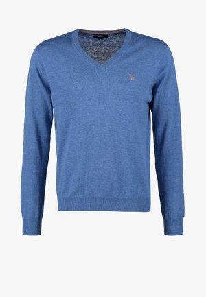 Jumper - blue melange