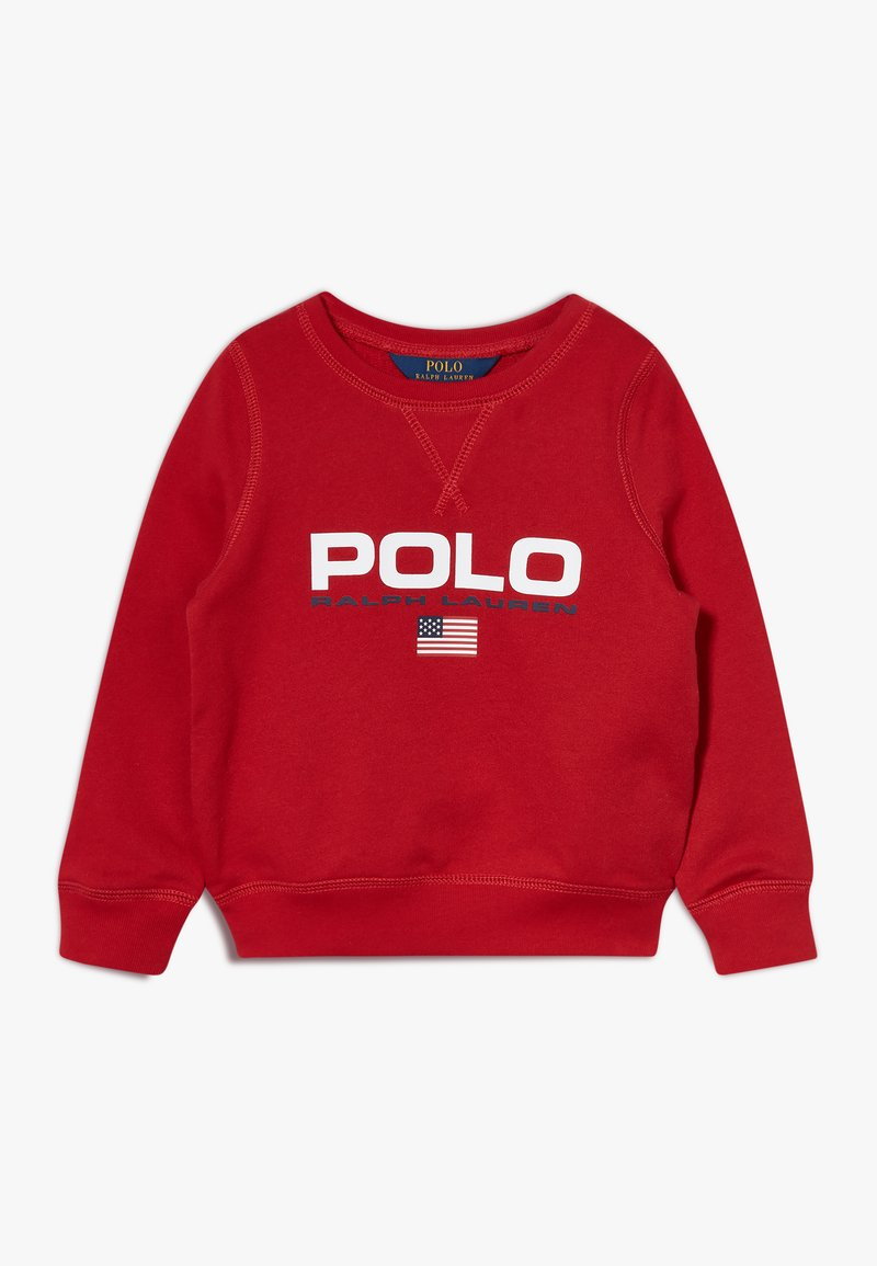 Polo Ralph Lauren - GRAPH  - Sweatshirt - red