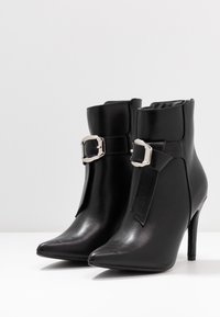 4th & Reckless - MILANA - High heeled ankle boots - black - 4