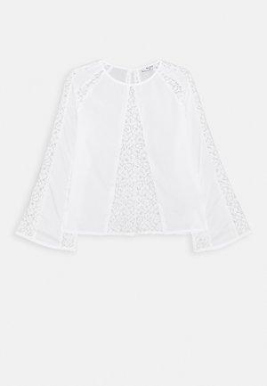 DETAIL BLOUSE - Blouse - white