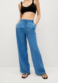 Mango - Trousers - blå - 0