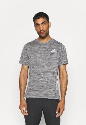 OUTDOOR - T-shirt imprimé - dark grey heather/solid grey