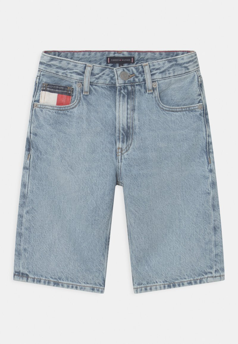 Tommy Hilfiger - MODERN STRAIGHT - Short en jean - blue denim