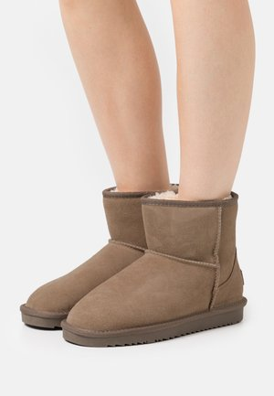 LUNA MID  - Classic ankle boots - taupe