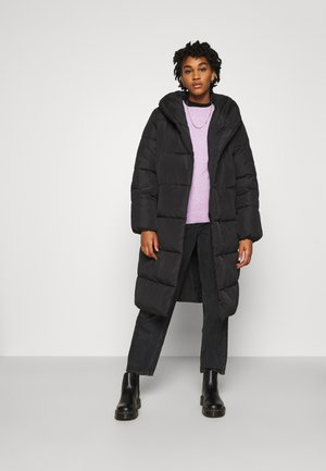 VIOLANA PUFF LONG JACKET - Vinterkåpe / -frakk - black