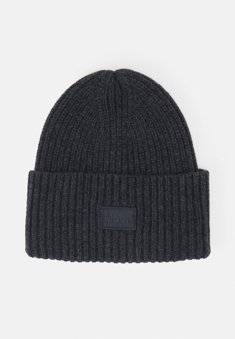 Moss Copenhagen - KARA BADGE - Beanie - grey
