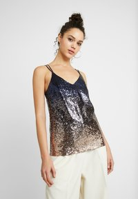 YAS - YASKATHY STRAP SHOW - Blouse - night sky - 0