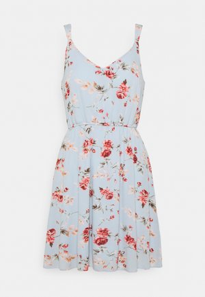 ONLKARMEN DRESS  - Day dress - cashmere blue/blue rose