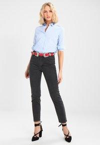 JDY - JDYMIO - Button-down blouse - blue/cloud dancer - 1