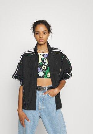 TRACKTOP - Summer jacket - black