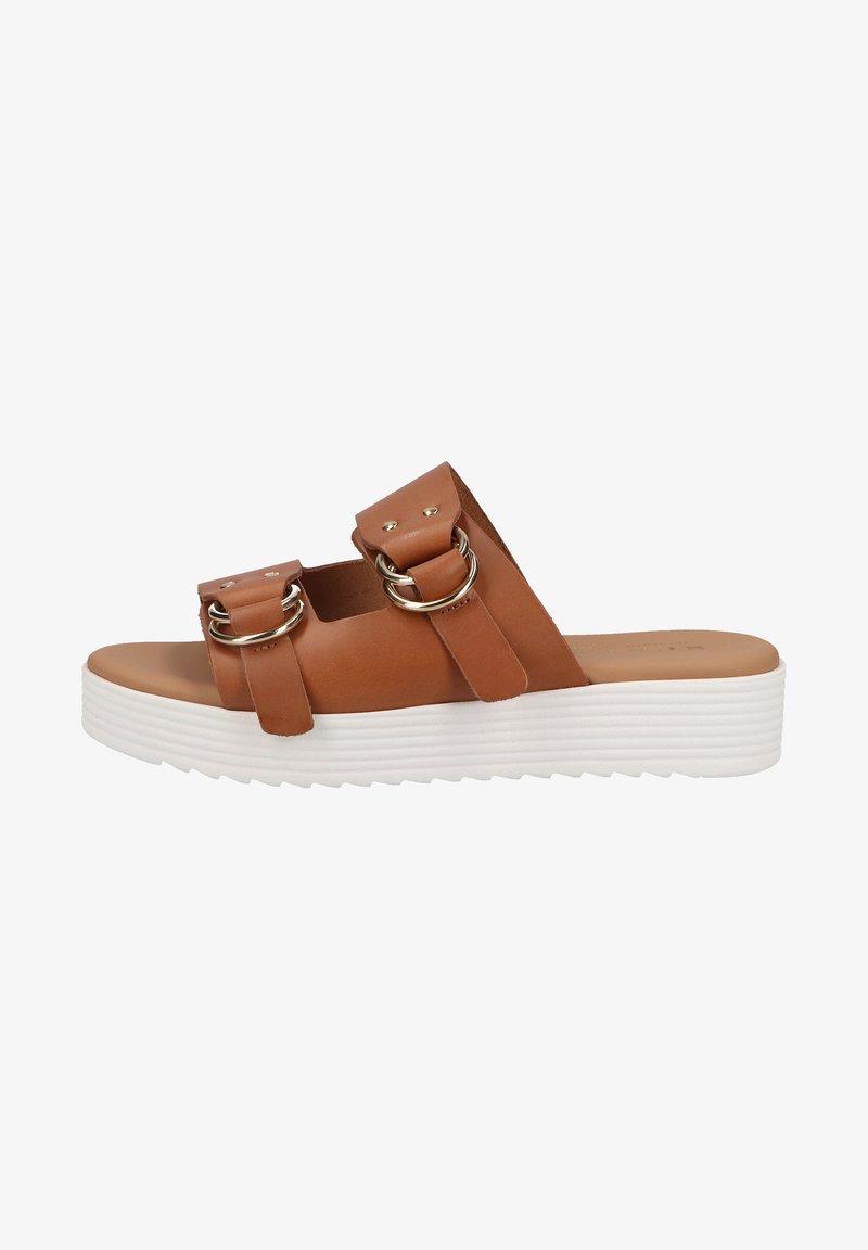 Scapa - Platform sandals - cognac