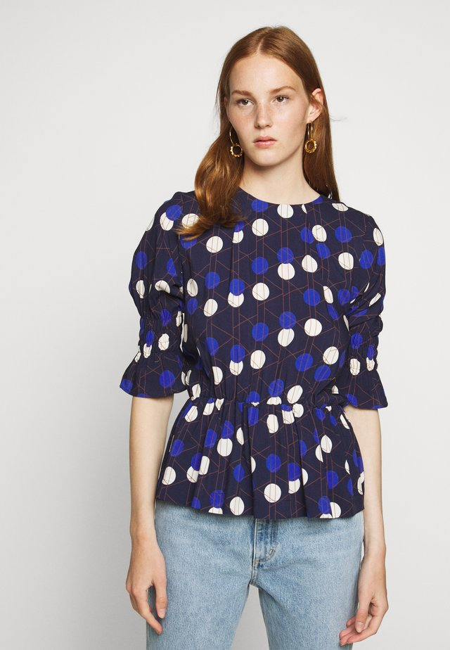 PIN - Blus - royal blue