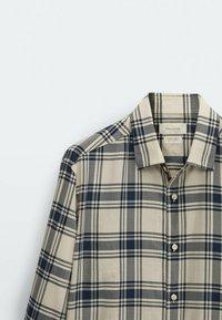 Massimo Dutti - SLIM FIT - Shirt - beige - 5