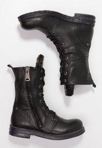Replay - EVY - Cowboy/biker ankle boot - black - 3
