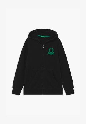 BASIC BOY  - veste en sweat zippée - black