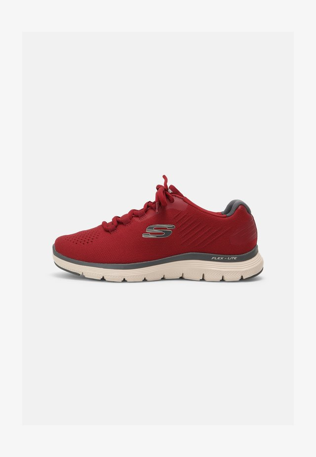 FLEX ADVANTAGE 4.0 - Sneakers laag - red/gray