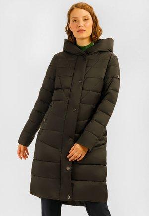 MIT KUSCHELIGER - Winter coat - olive